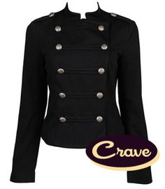 Military style jacket military jacket women - I loved this look ...