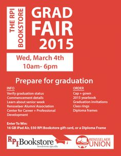 Grad Fair 2015!
