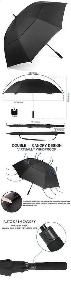 under armour umbrella. golf umbrellas 18933: rainlax windproof umbrella 62 inch extra large double canopy automatic open under armour