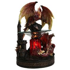 RED DRAGON ELECTRIC OIL WARMER