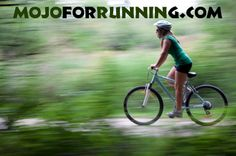 Biking is such good cross training for running that if you are running, say 6 or 7 days a week, your running performance might well improve by switching one of those days to biking; however, don't try to replace your long run. Replace one of your easy run days with your bike ride or even replace a hard day with a bike ride, but in that case the bike ride should include greater intensity.