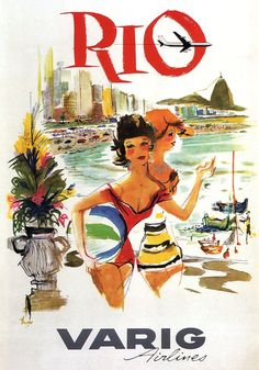Varig Airlines to RIo.