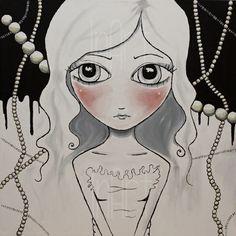 Repro - Pretty Nerd (akrylmaleri)