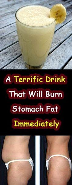 A terrific drink that will burn stomach fat immediately healthy drinks реце Fat Burning Water, Fat Burning Drinks, Burn Stomach Fat, Burn Belly Fat Fast, Loose Stomach Fat Fast, Burn Belly Fat Drinks, Ways To Loose Weight, Lose Weight, Lose Fat