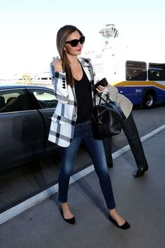 Perfect airport style. Must recreate for Cali