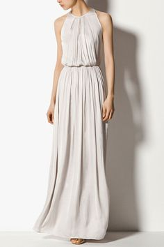 rounded up 11 of our favorite halter dress picks to start off spring! Pretty Outfits, Pretty Dresses, Beautiful Dresses, Vestidos Chiffon, Mode Simple, Mini Robes, Look Chic, Mode Inspiration, Dress Me Up