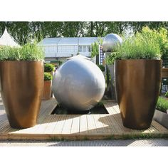 Geo Vase Fibreglass planter From potstore.co.uk
