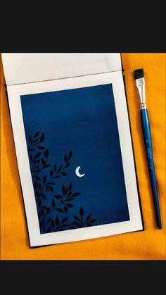 Easy Canvas Art, Small Canvas Art, Mini Canvas Art, Easy Canvas Painting, Art Drawings Beautiful, Art Drawings Sketches Simple, Pencil Art Drawings, Small Paintings, Canvas Paintings