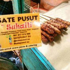 Rekomendasi Wisata Kuliner Khas Lombok yang Enak - Sate Pusut