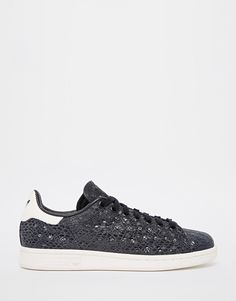 Image 1 of adidas Originals Stan Smith Faux Snake Trainers