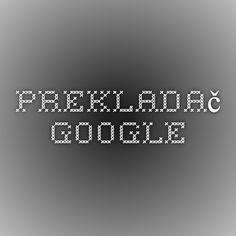 Prekladač Google Pc Mouse, Ipad, Internet, Printables, Google, Print Templates, Printable Templates