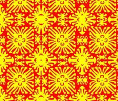 daisy doll fabric by nascustomwallcoverings on Spoonflower - custom fabric