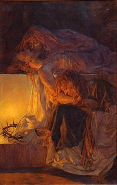 """The Mourning of Christ"" by Bela Sesija"