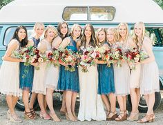 Bright Vintage Wedding at Birdstone Winery - Inspired By This