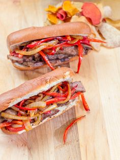 The most amazing Steak & Pepper Sandwiches (at home) #15MinuteSuppers