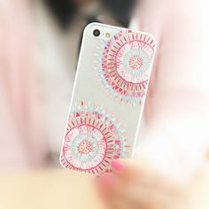 Folk Totem Art iPhone 5/5S Slim Hard Cell Phone Clear by ATHiNGZ, $8.99