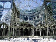 #Palacio_de_Cristal #Madrid #Spain