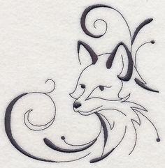 Machine Embroidery Designs at Embroidery Library! - Embroidery Library Animal Sketches, Animal Drawings, Cool Drawings, Pencil Drawings, Fox Tattoo, Wood Burning Art, Fox Art, Image Manga, Anime Comics