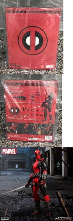 Comic Book Heroes 158671: New Mezco Toyz One:12 Collective Marvel Deadpool Collectible Figure In Stock -> BUY IT NOW ONLY: $107.95 on eBay!
