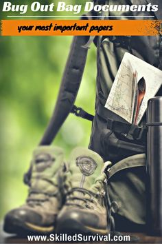 Bug Out Bag Documents: Your Most Important Papers