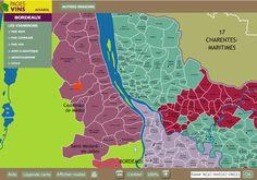 Vinho e Delicias - Sobre vinho: Mapa interativo de Bordeaux