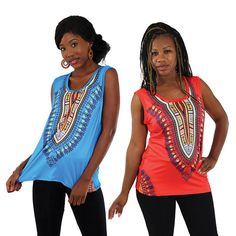 Traditional Print Stretch Tank Top (C-WS867)     sold by Lester's African Bargains. Shop more products from Lester's African Bargains on Storenvy, the home of independent small businesses all over the world.