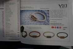 VKI bracelets in IJL catalogue London International Jewelry, Men Necklace, Bracelet Designs, London, Unique Jewelry, Bracelets, Women, Costume Jewelry, Bracelet