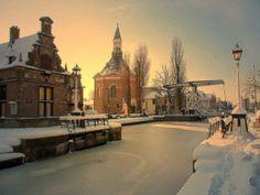 Winter in Leidschendam, The Netherlands. #greetingsfromnl