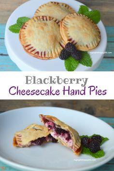 Blackberry Cheesecake Hand Pies, a perfect summertime dessert ...