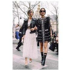 Spotted 📸 Beautiful @songofstyle & @camilacoelho going to @dior #PFW #ParisFashionWeek