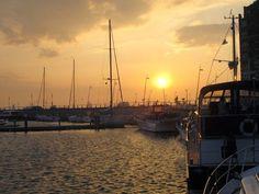 Waterway Wanderer: End of the Netherlands cruise - Edam to Zwartsluis via Lelystad - Sunset in Lelystad