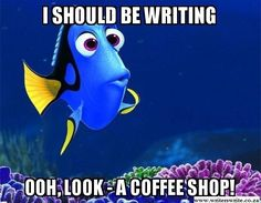 I should be writing...#writerhumor
