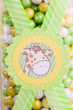 Perfect touches for a themed baby shower!