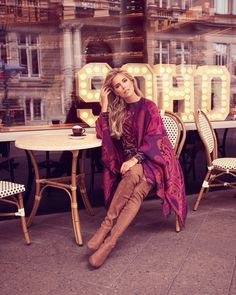 Knee High Heels, Thigh High Boots, Over The Knee Boots, Sylvie Meis Style, Celebrity Boots, Camel Boots, Sexy Boots, Leather Gloves, Boho Outfits