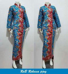 RnB Pramugari Rebecca  Allsize Bahan Batik Katun Halus Harga 135rb #batikbagoes #batiksolo #batikindonesia #seragambatikkantor #seragambatik #fashion #dress #pramugari #wanita Myanmar Traditional Dress, Traditional Dresses, Model Kebaya, Batik Fashion, Batik Dress, Peplum, Kimono Top, Asian, Tops
