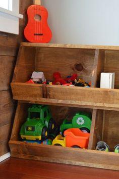 Storagepalooza Land of Nod knock off storage bins NewlyWoodwards4