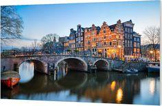 Brouwersgracht, Amsterdam. Luxe wanddecoratie van Wallstars.