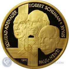 2002 Belgium 100 Euro Proof - thumbnail | goldankauf-haeger.de