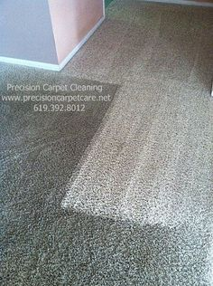 Nylon carpet cleaning transforms from dark to bright & new! We use a green, no soapy residue, fast drying process for San Diego.