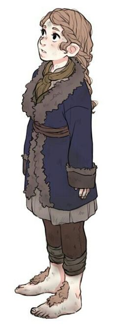 Fem Bilbo! So cute!!!