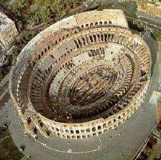 Coliseu visto de cima - Roma