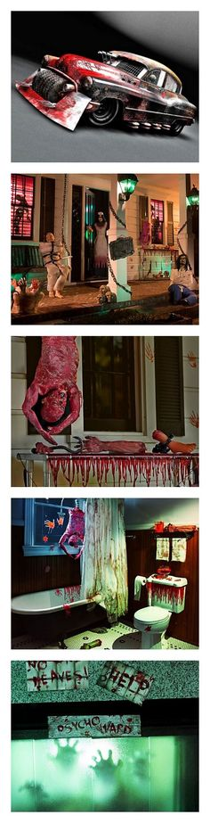 12 UNFORGETTABLE Halloween party ideas. Cars too! Click for more. #scary