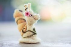 Needle felted toy  Snail by WoolenTenderness on Etsy, $37.00
