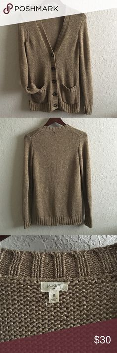 J. Crew cardigan open to offers, but no low balling. Would be cute worn with brown boots for the coming fall this year. J. Crew Sweaters Cardigans