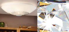 Ellera EGLO w 3 rozmiarach - Plafony kryształowe - Plafony sufitowe, nowoczesne oświetlenie, plafon sufitowy   E-Klosz