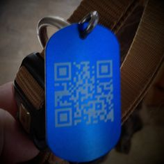 DIY QR Code Pet Tags - blog - gadgetboy dot org - The Weblog of John Federico