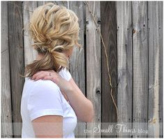 The Small Things Blog: The Braided Pony