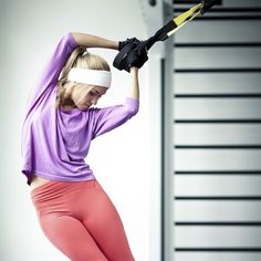TRX Workout 1: 4 Moves to Strengthen, Shape, and Tone