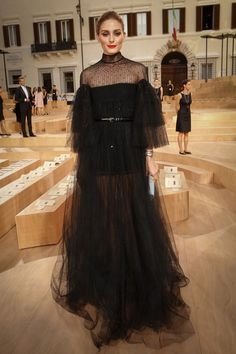 Front Row at Valentino Show