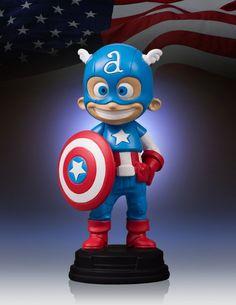 Captain America - Pre-Order Gallery - Collectibles The 3D Studio $69
